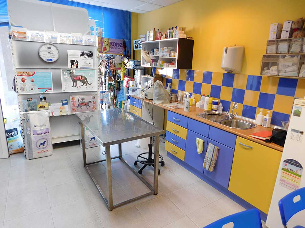 Behandlungsraum - Tierklinik El Molinar