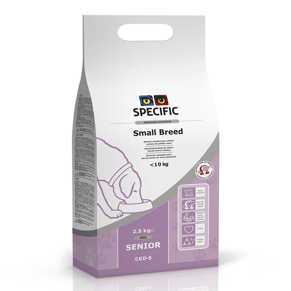 Specific CGD S 2.5 kg vollwertiges und ausgewogenes Alleinfuttermittel für ältere Hunde