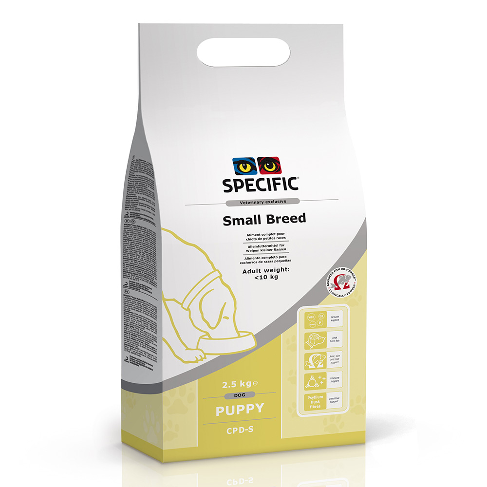 Specific CPD S 2.5 kg complete balanced food for puppies